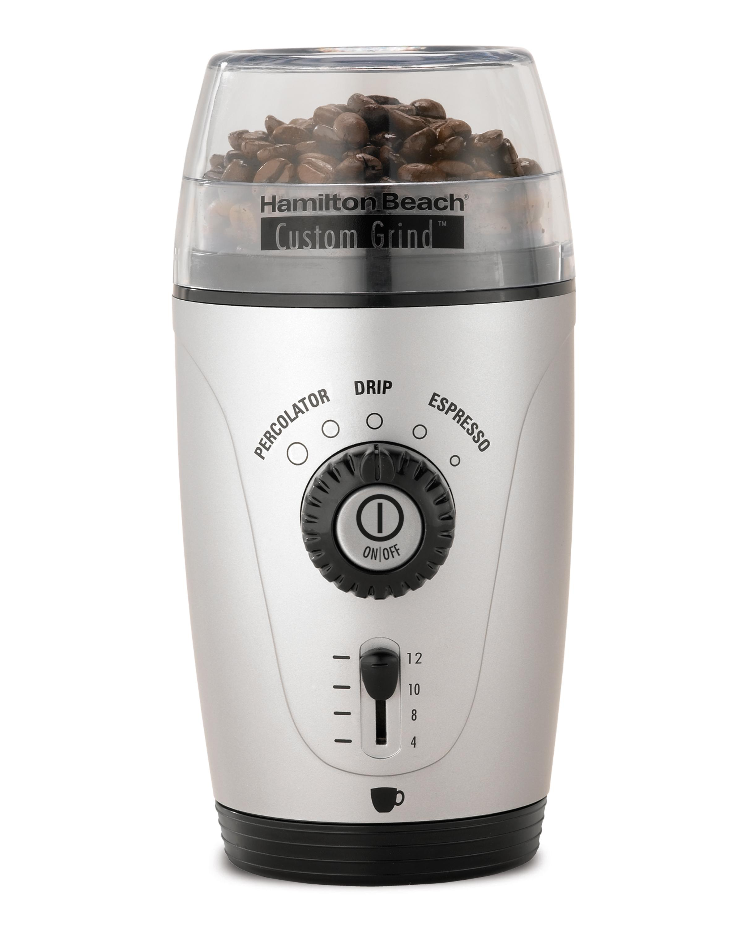fresh grind coffee grinder bean mill electric automatic 12. Black Bedroom Furniture Sets. Home Design Ideas