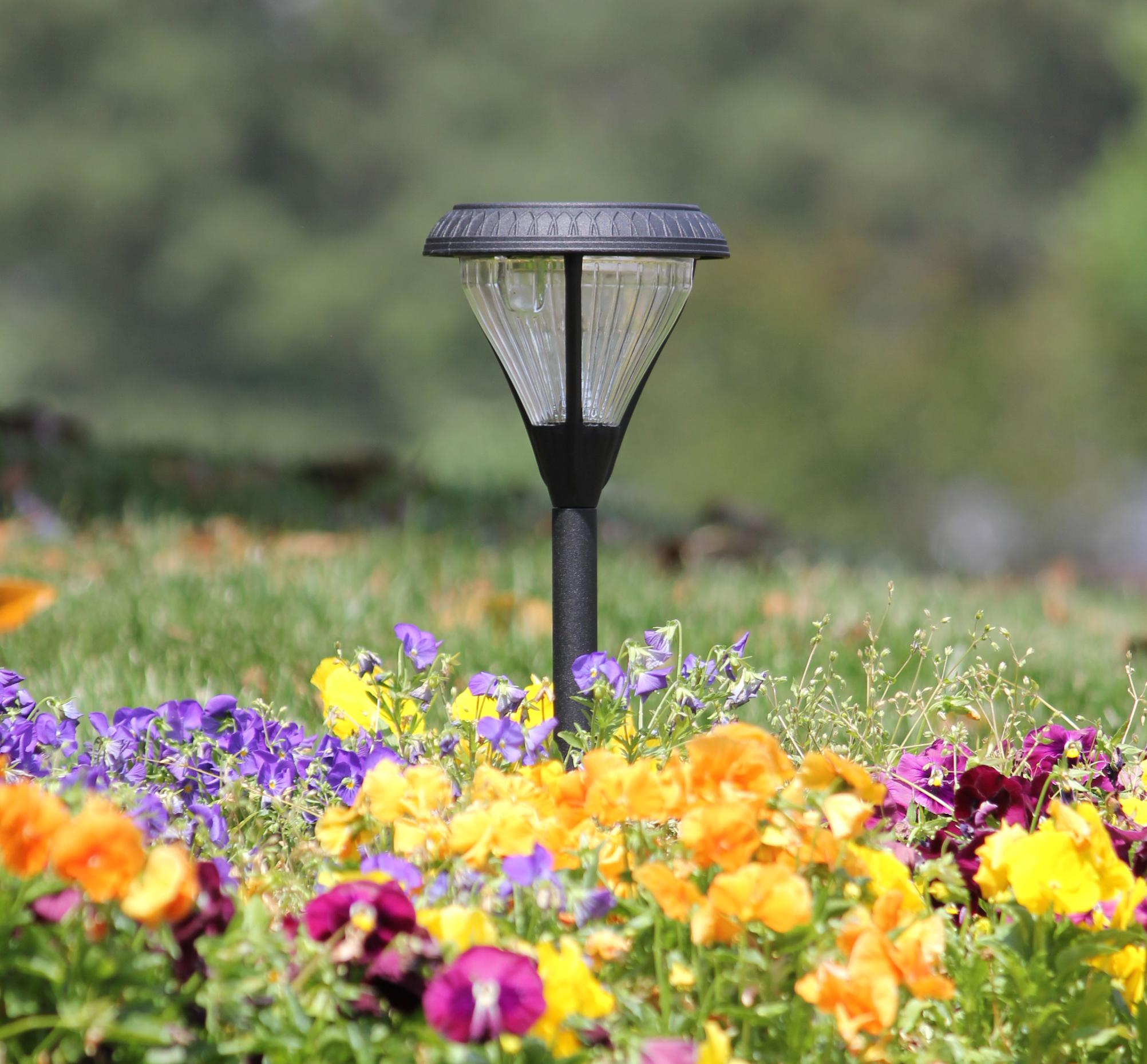Amazon.com : Gama Sonic Premier Solar Landscape Path and Garden Light