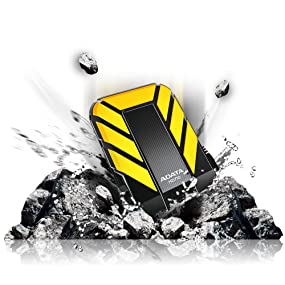 external storage, hard drive, hdd, military, IP68, waterproof, HD710, ADATA