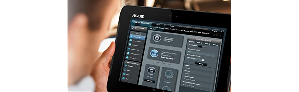 ASUS WRT Interface