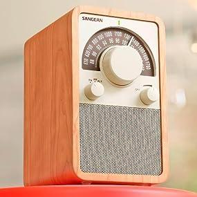 Sangean WR-15 AM/FM Table Top Radio