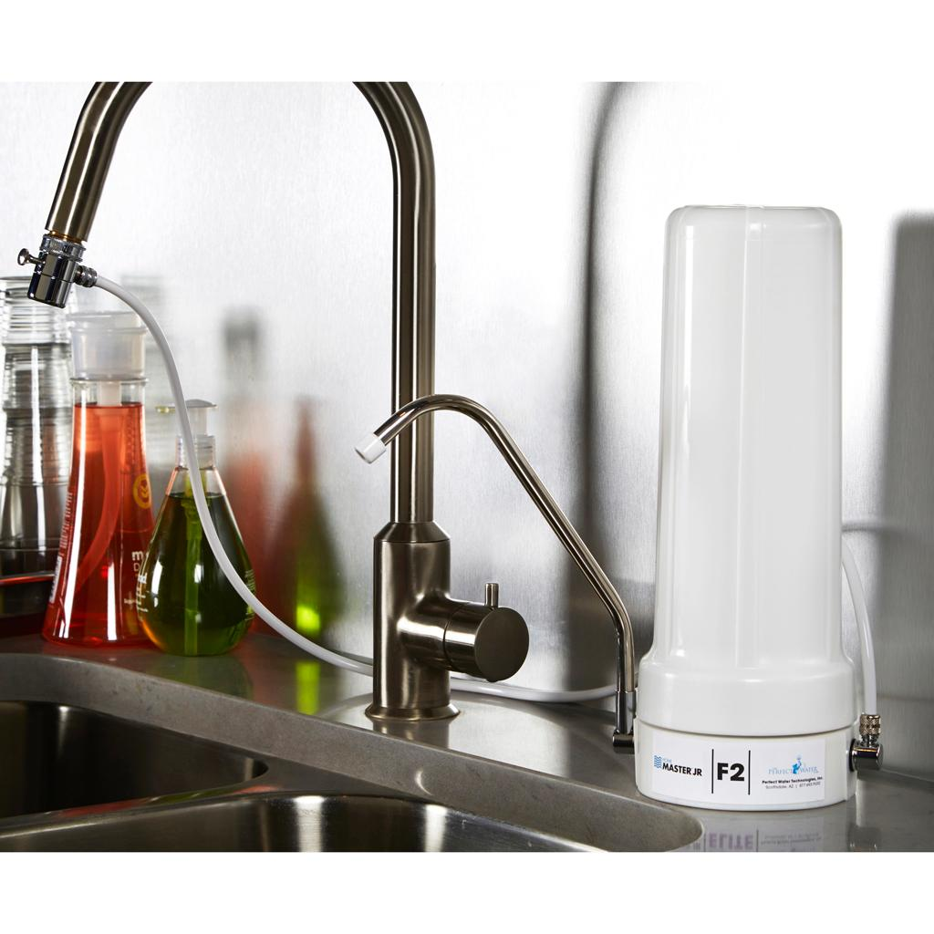 Water Filtration System White Kitchen Countertop Water Filters