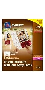 Avery Brochures