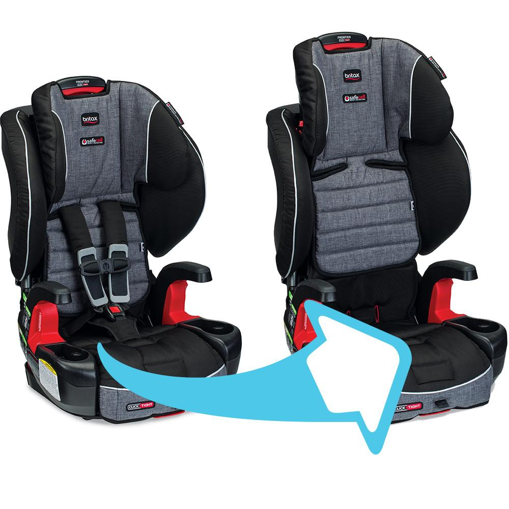 car seat harness correctly