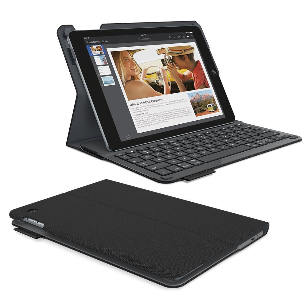 Logitech Type Bluetooth Keyboard Textured Surface Folio