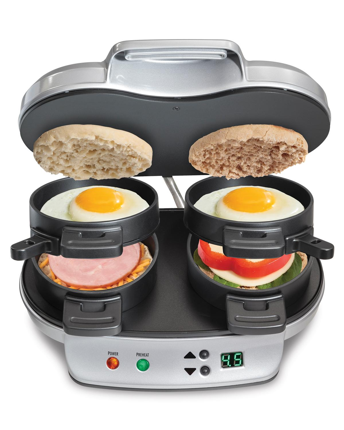 Hamilton Beach 25490a Dual Breakfast Sandwich