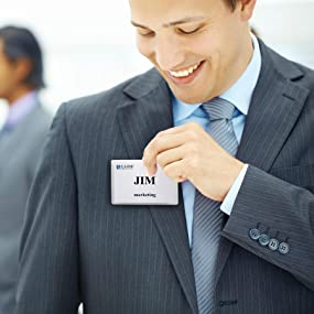 C-Line Name Badge Kits