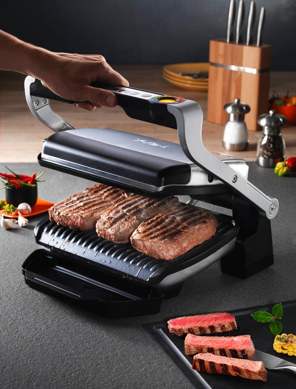 View larger - T fal optigrill indoor electric grill ...
