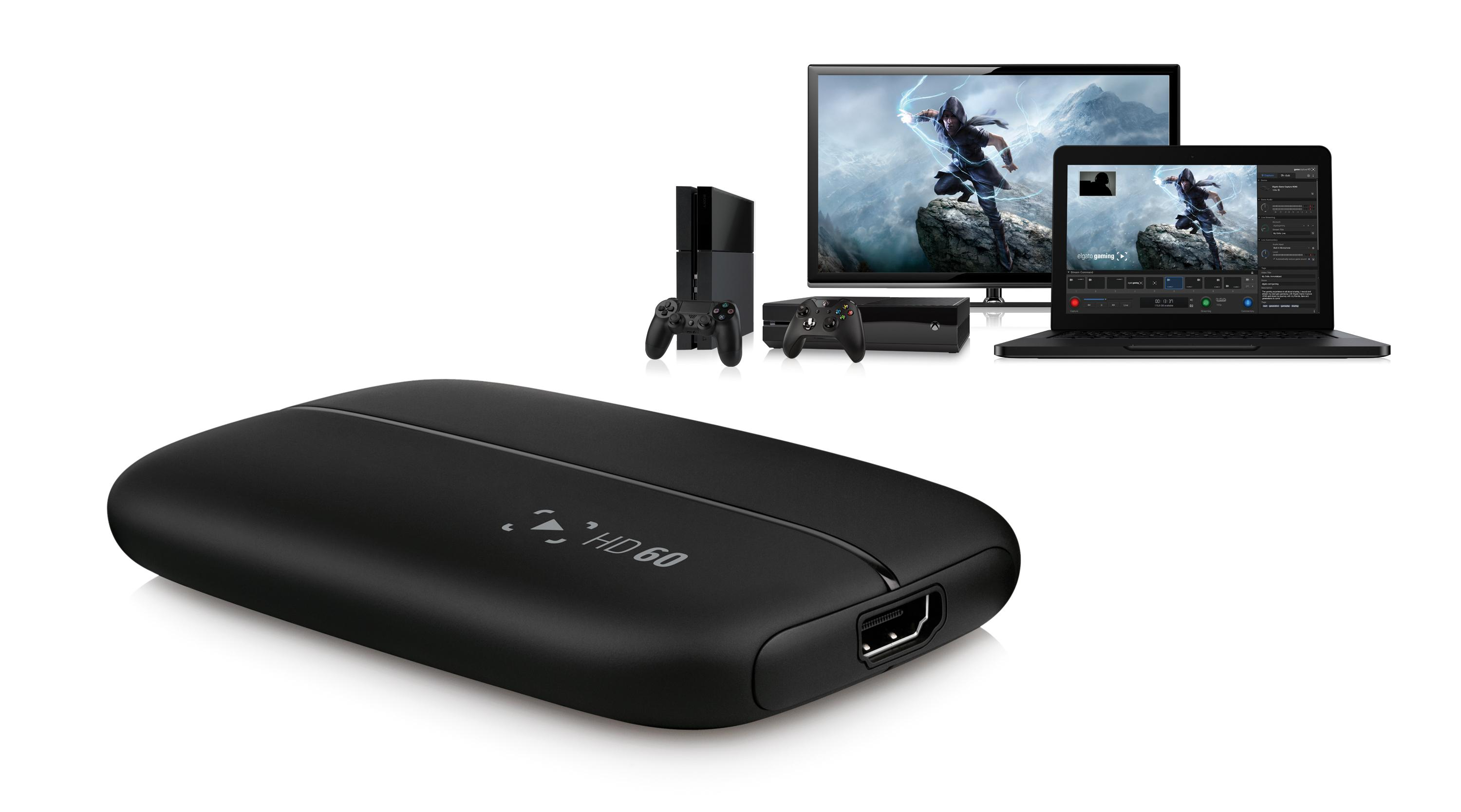 Image result for Elgato Game Capture HD60 for PS4, Xbox One or Wii U