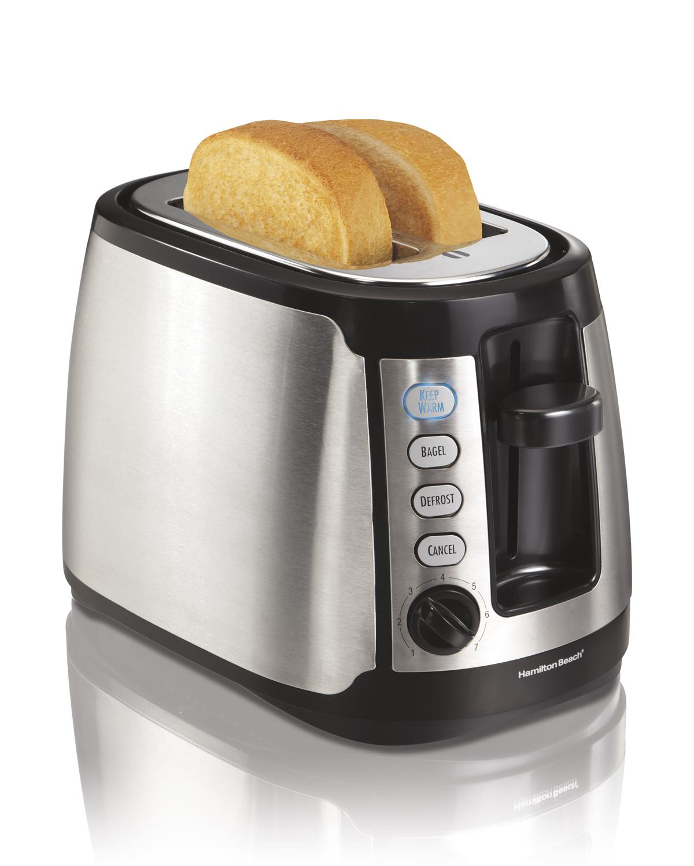Amazon Com Hamilton Beach 22811 Keep Warm 2 Slice Toaster
