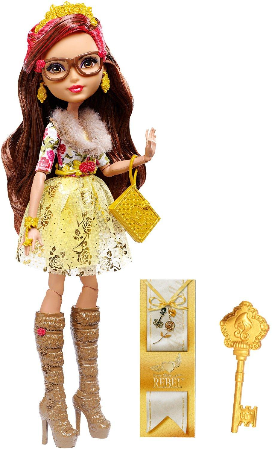 Ever After High Rosabella Beauty Doll Free Shipping New