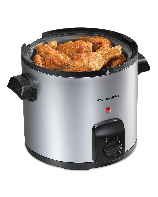 Amazon Com Proctor Silex 4 Cup Oil Capacity Deep Fryer