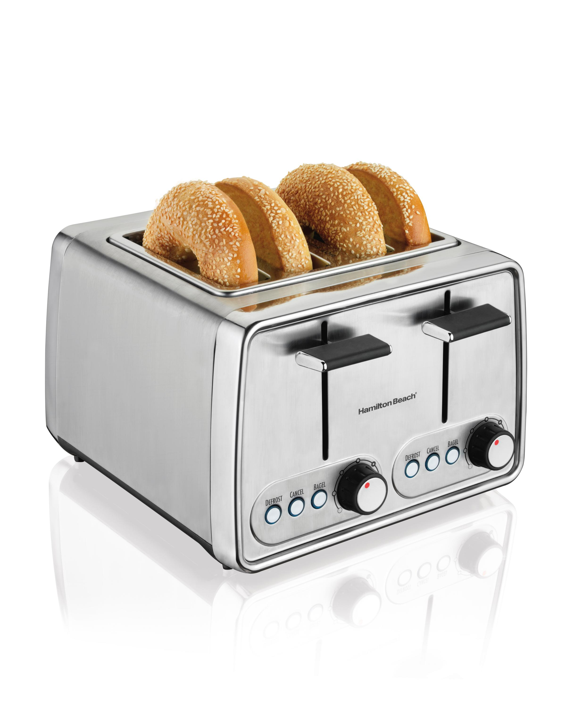 slice toasters oster cuisinart red stainless steel bread bagel two