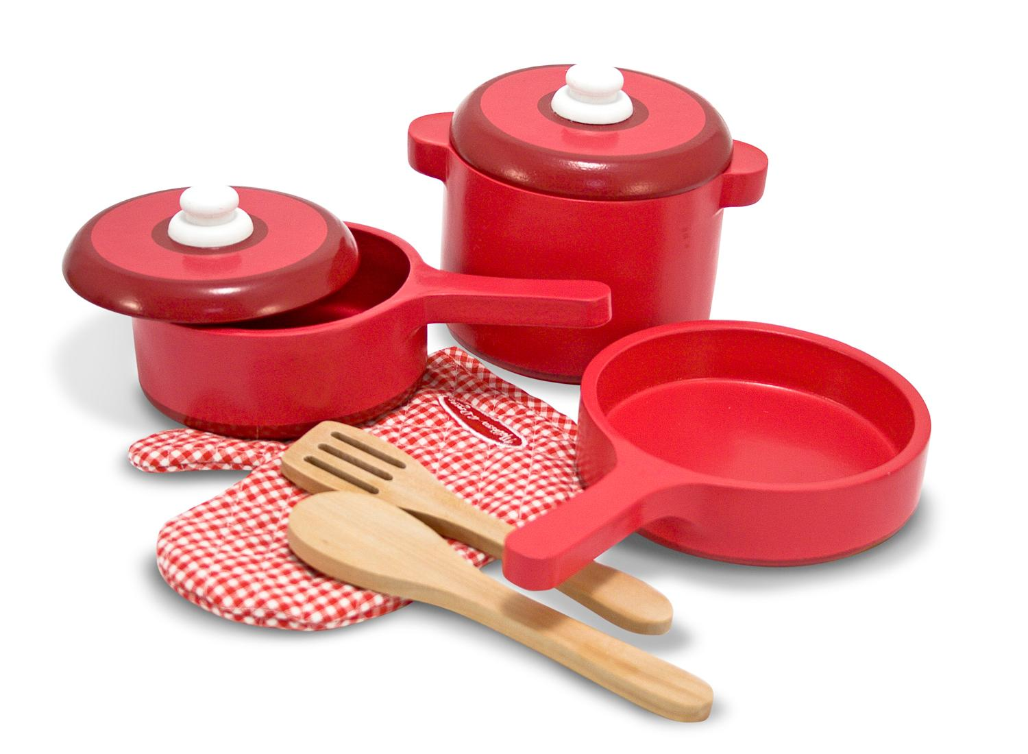 Melissa Doug Toys : Amazon melissa doug deluxe wooden kitchen accessory