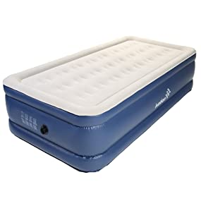 Amazon Ivation Inflatable Twin Air Bed Double