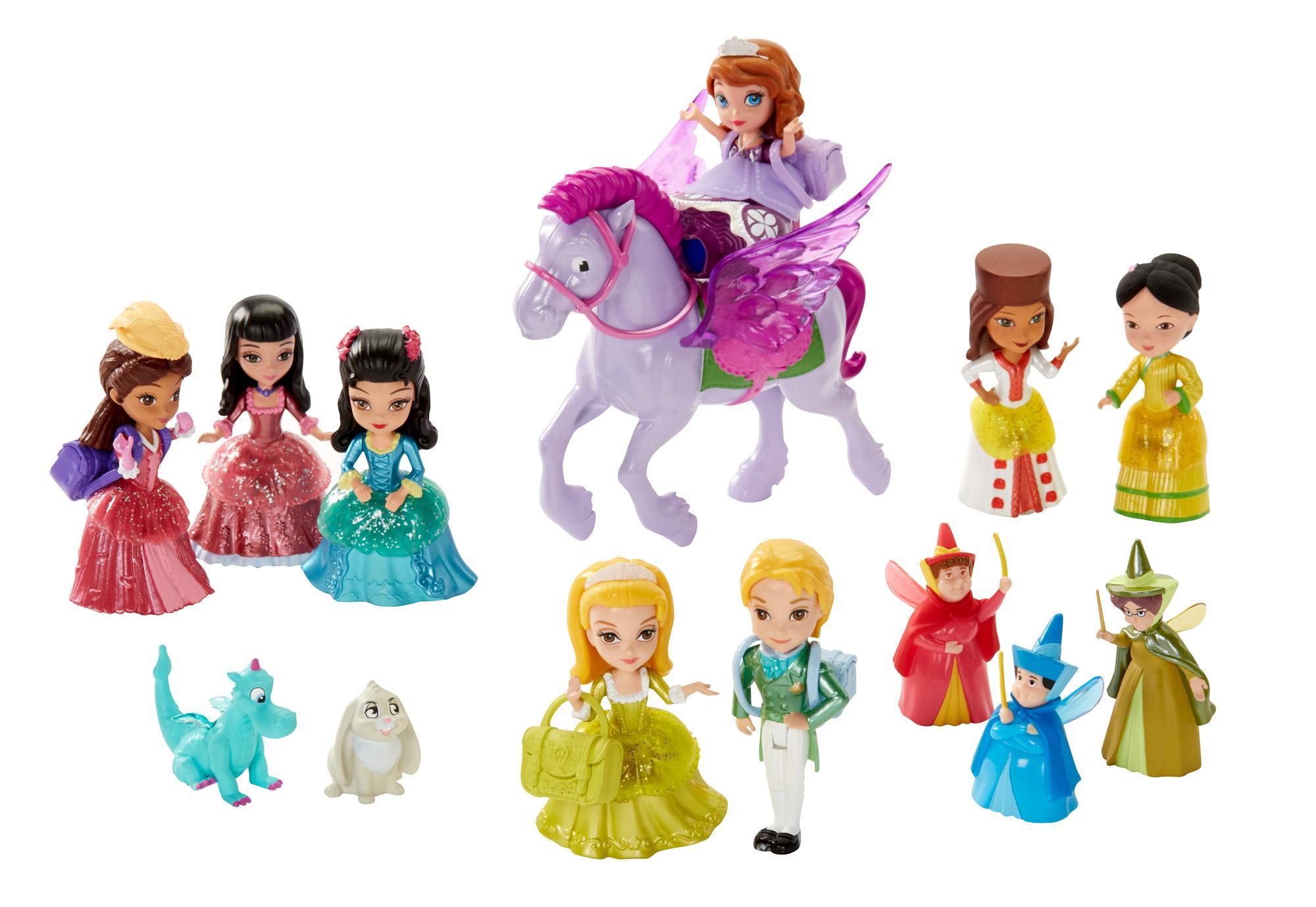 Disney Sofia The First Royal Prep Academy Doll Gift Pack: www.amazon.com/Disney-Sofia-First-Royal-Academy/dp/B00IVP13NO