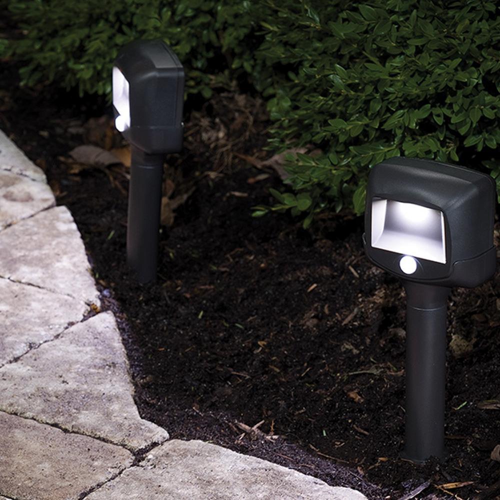 Solar Outdoor Lights No Batteries: Mr. Beams MB572 Battery Powered Motion Sensing LED Path