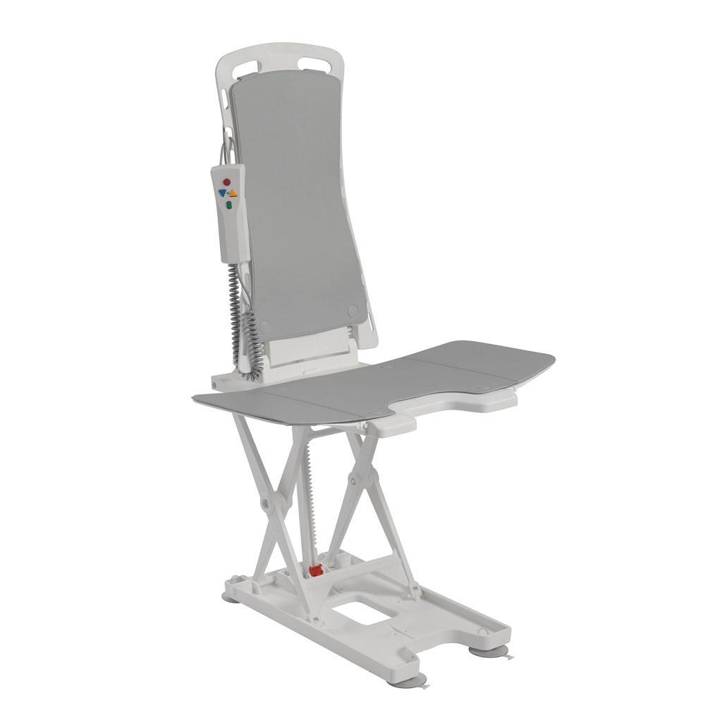 drive medical bellavita auto bath tub chair