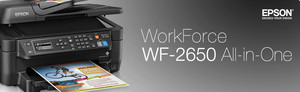 Amazon Com Epson Workforce Wf 2650 All In One Wireless