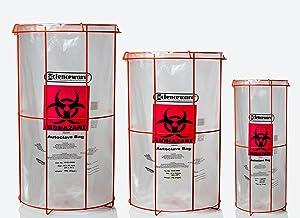 poxygrid bag holders, holder for biohazard bags