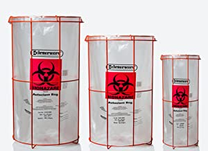 poxygrid bag holders, holder for biohazard bags