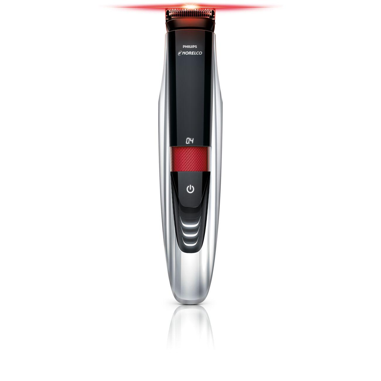 philips norelco beardtrimmer 9100 with laser. Black Bedroom Furniture Sets. Home Design Ideas