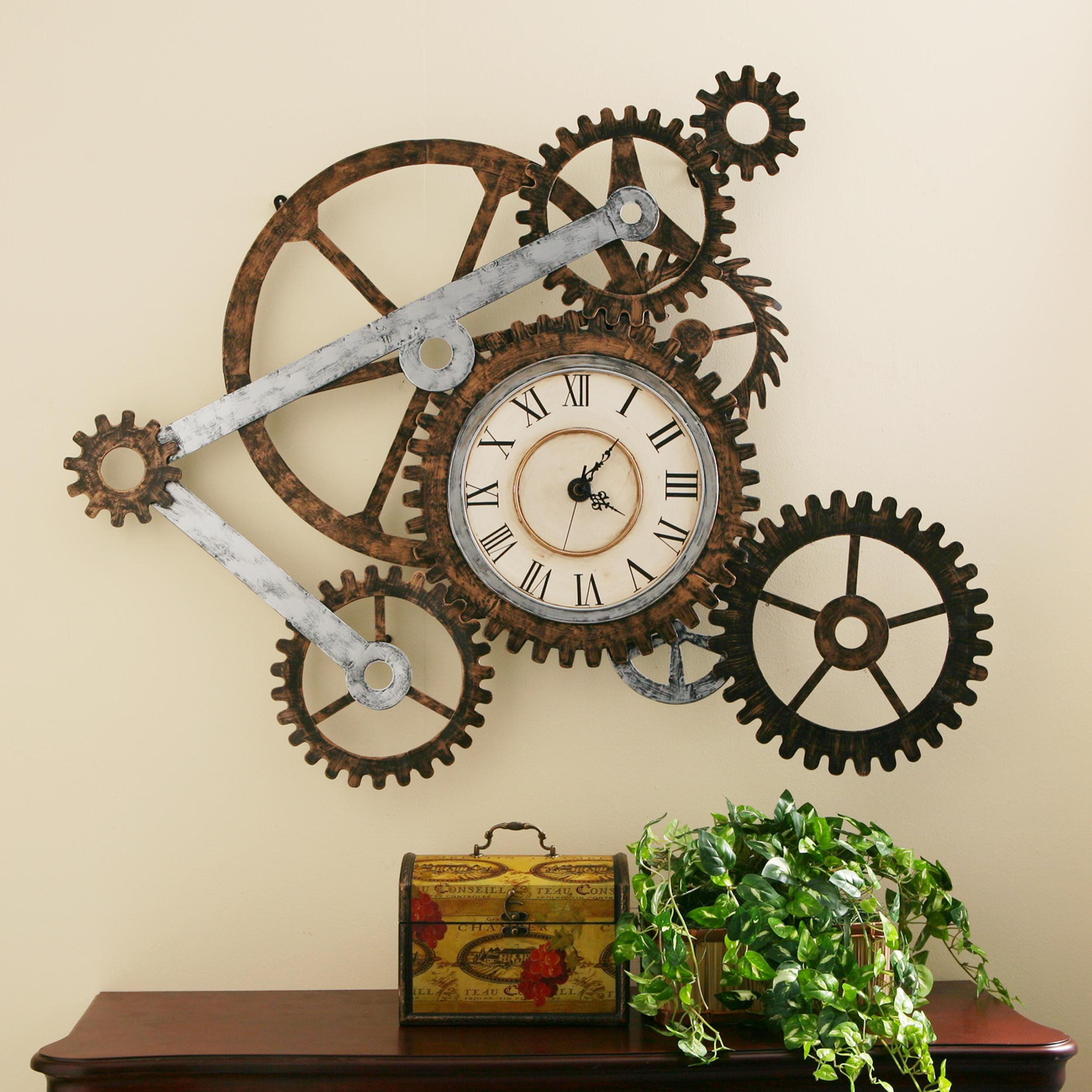 Wall Decor Clocks Modern : View larger