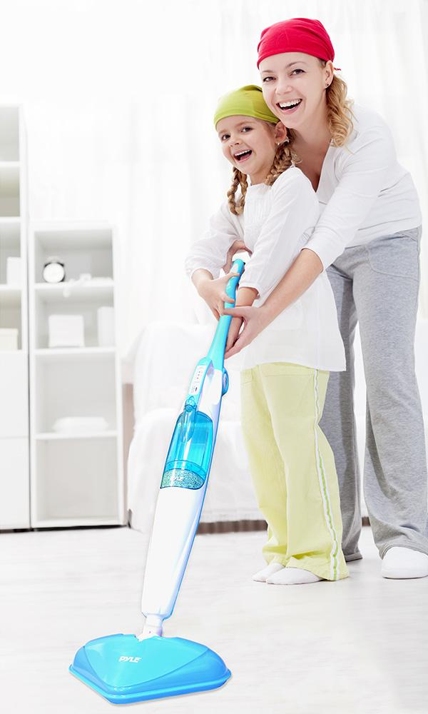 Amazon.com - Pyle PSTM40 Pure Clean Steam Vibrating Floor Mop ...