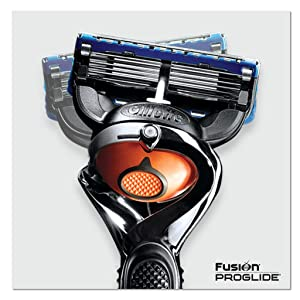 Gillette Fusion ProGlide Bundle With Manual Razor Blades, Handle, and Shave Gel