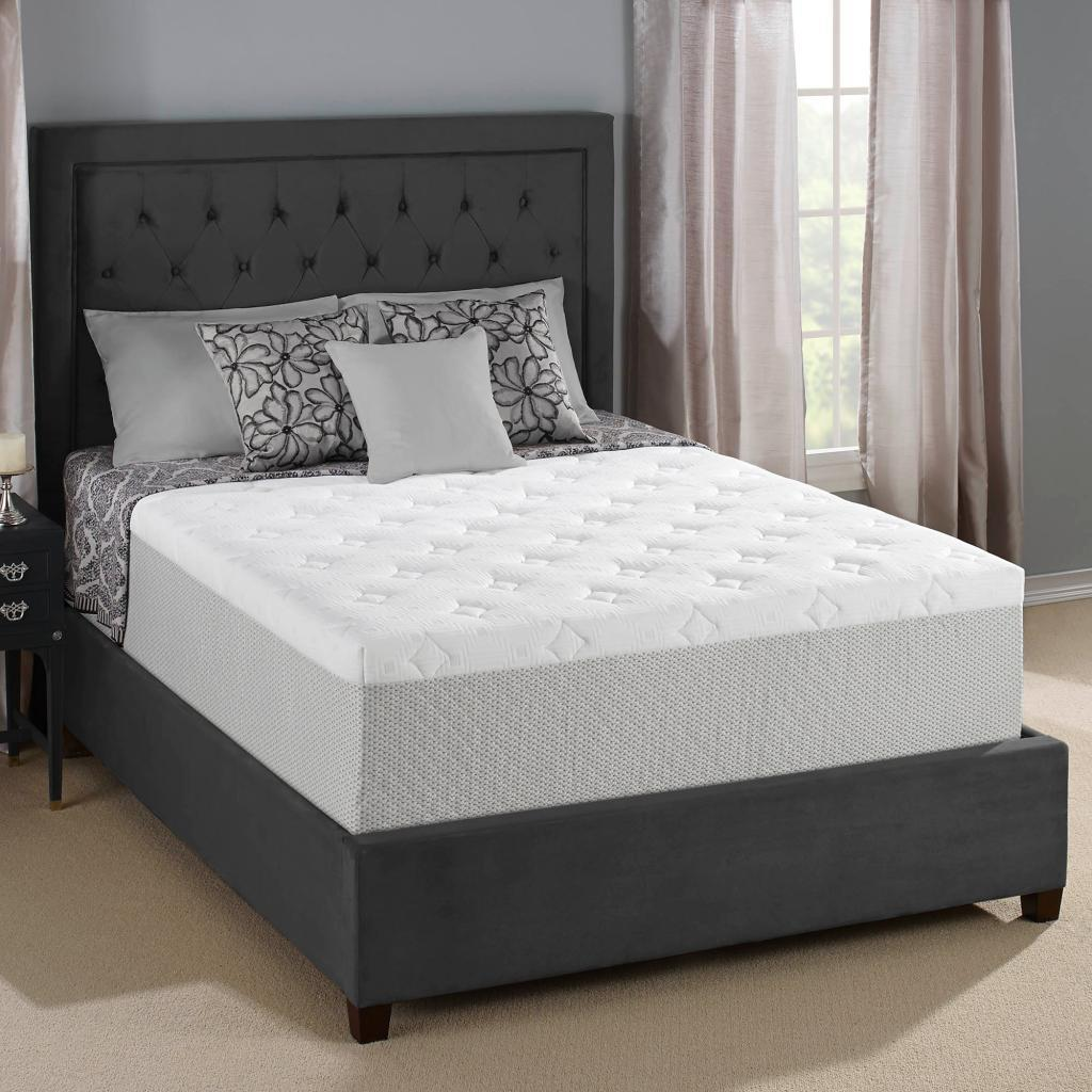 Serta memory foam mattress Memory foam king mattress