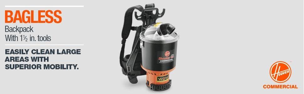 Commercial Vacuum Pro Cleaner Backpack Shoulder Vac