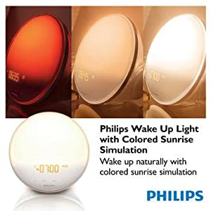 Amazon Com Philips Morning Wake Up Light With Colored