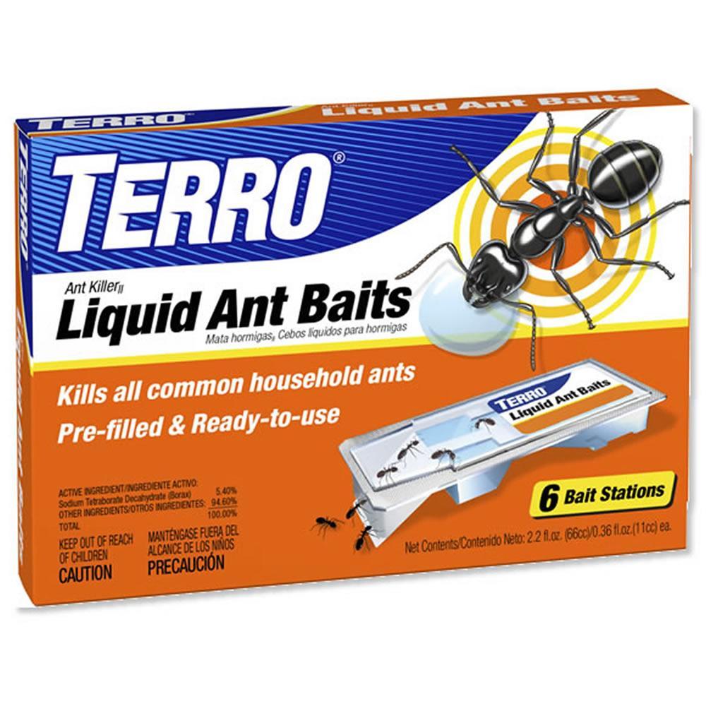 New terro liquid ant killer ii baits 6 pack t300 prefilled free