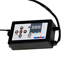 LED Display Control of F.I.R Heat Therapy