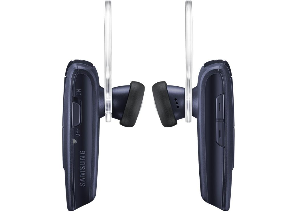 samsung hm1350 wireless hands free bluetooth headset navy flat faces diverse