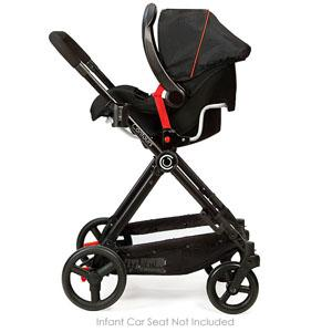 contours bliss 4 in 1 stroller system valencia pram strollers baby. Black Bedroom Furniture Sets. Home Design Ideas