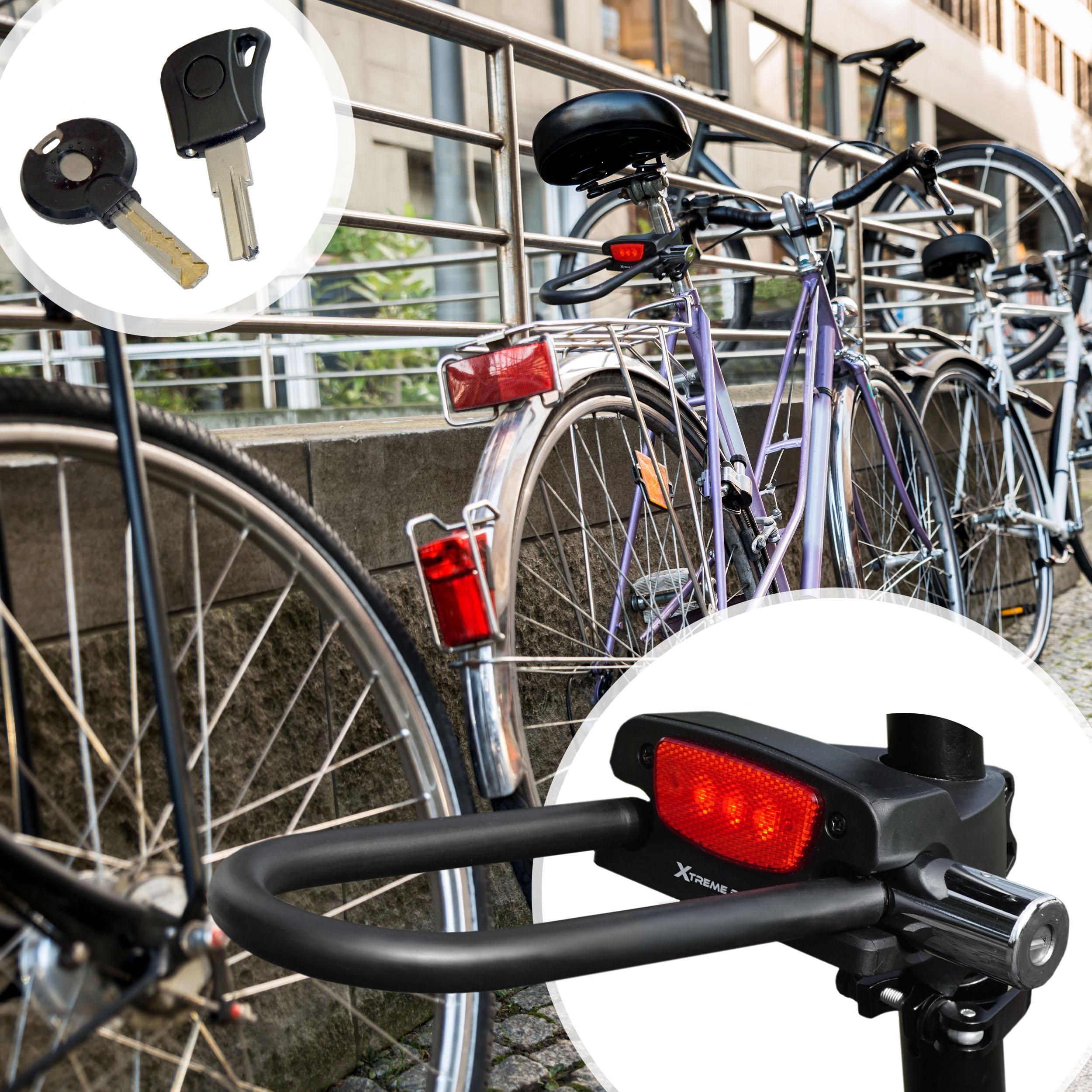 bike lock u lock u lock ulock bike light led bicycle taillight headlamp. Black Bedroom Furniture Sets. Home Design Ideas