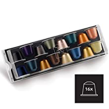Image of the nespresso capsules provided with each machine purchase