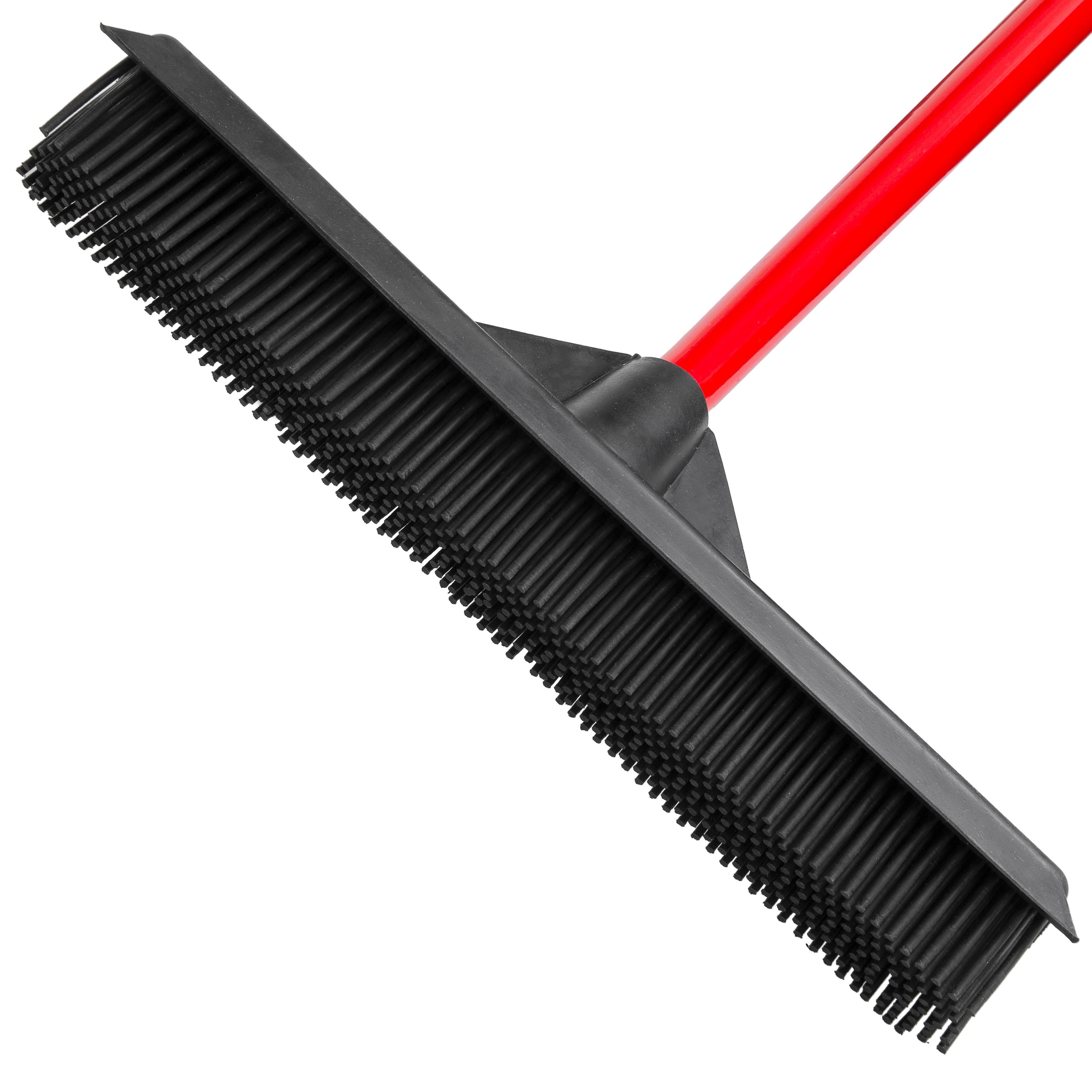 Amazon.com - RAVMAG Rubber Broom - Soft Natural Rubber Bristles with