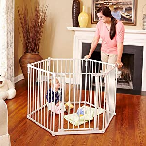 north states, extra wide gate, baby safety yard, configurable yard, superyard with door, portable