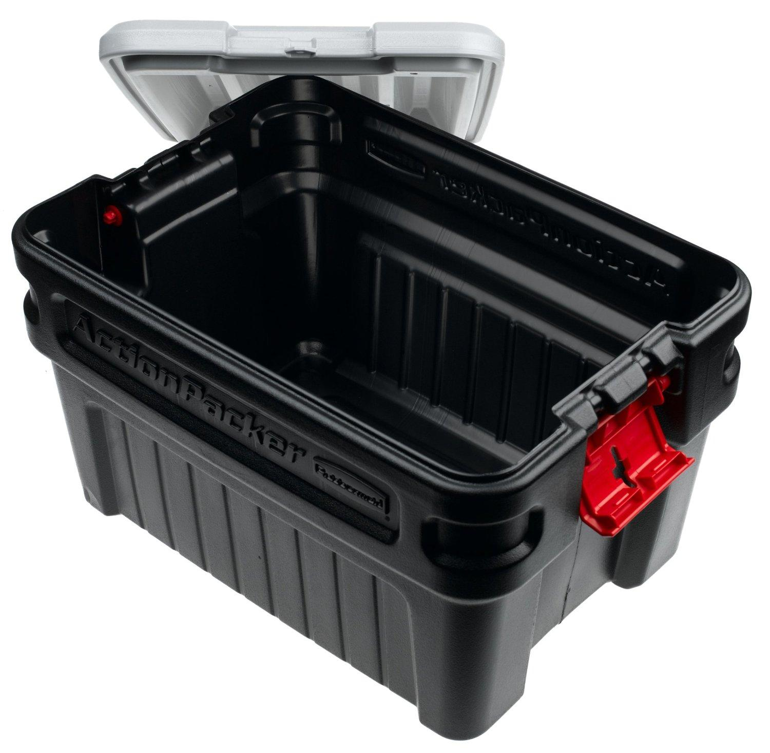 Rubbermaid 1172 ActionPacker Storage Box, 24
