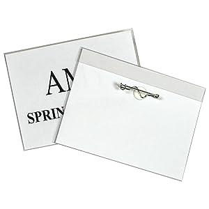 Pin Style Name Badge Kit