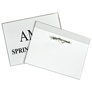 Pin Style Name Badge Kit
