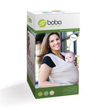 Amazon Com Boba Organic Wrap Khaki 0 18 Months