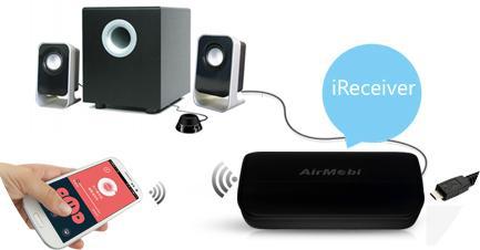 iReceiver Wi Fi Music Receiver Range Extender