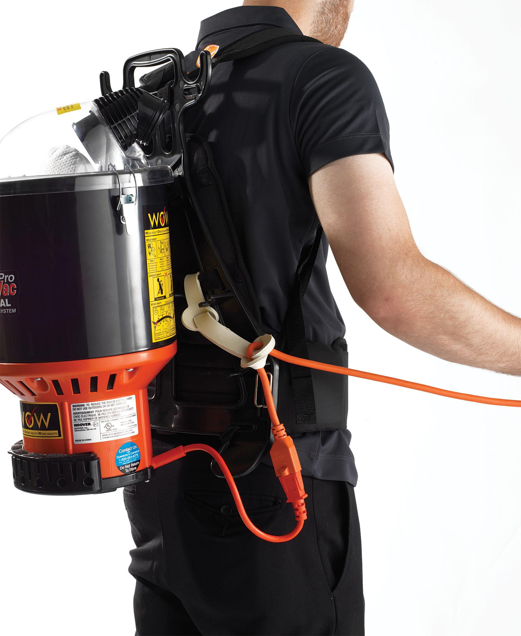 product features - Backpack Vacuum