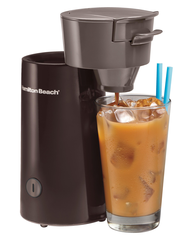 Automatic Iced Coffee Maker : Amazon.com: Hamilton Beach Iced Coffee & Tea Maker (40917): Electric Ice Tea Machines: Kitchen ...