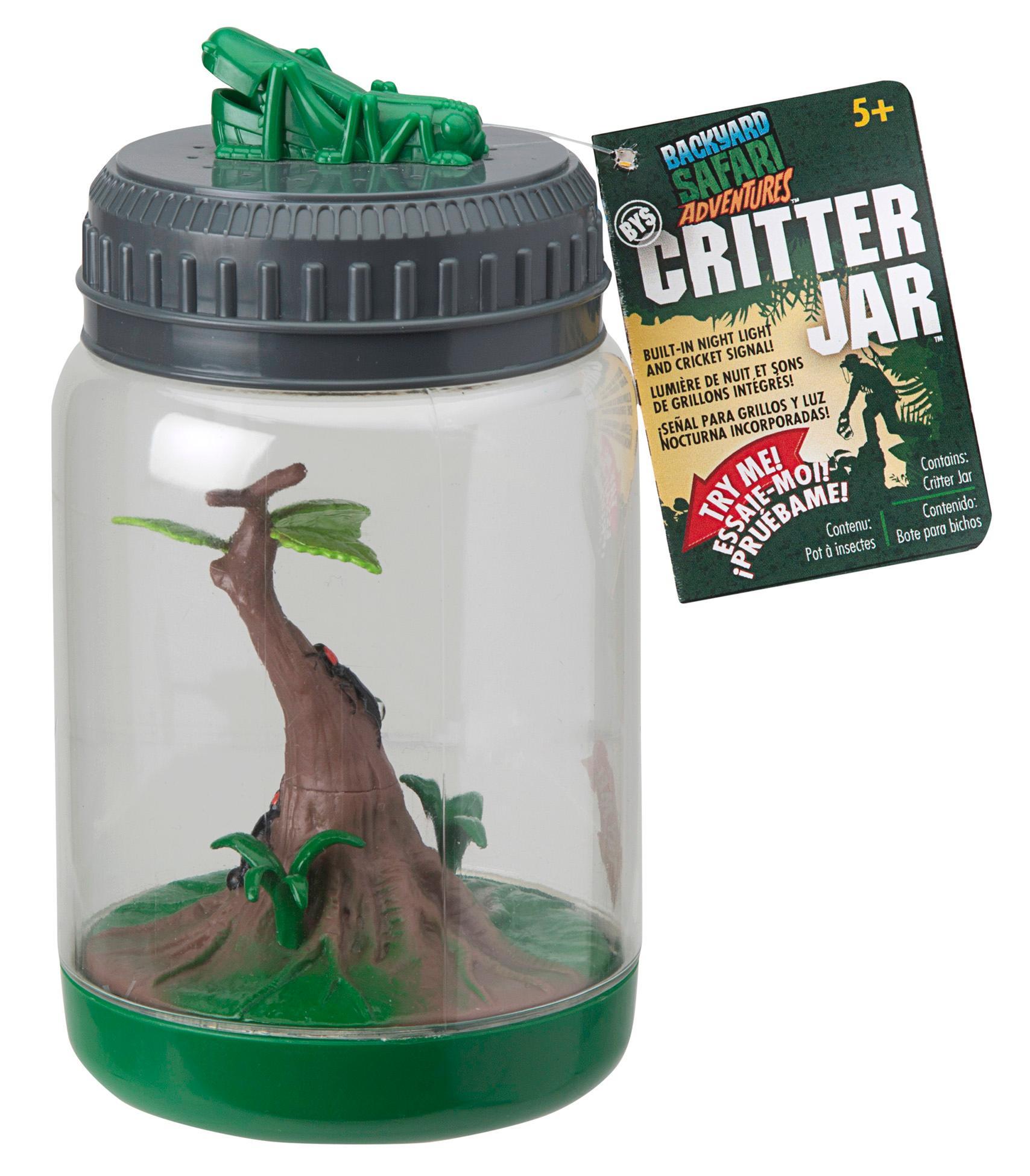 backyard safari critter jar toys games
