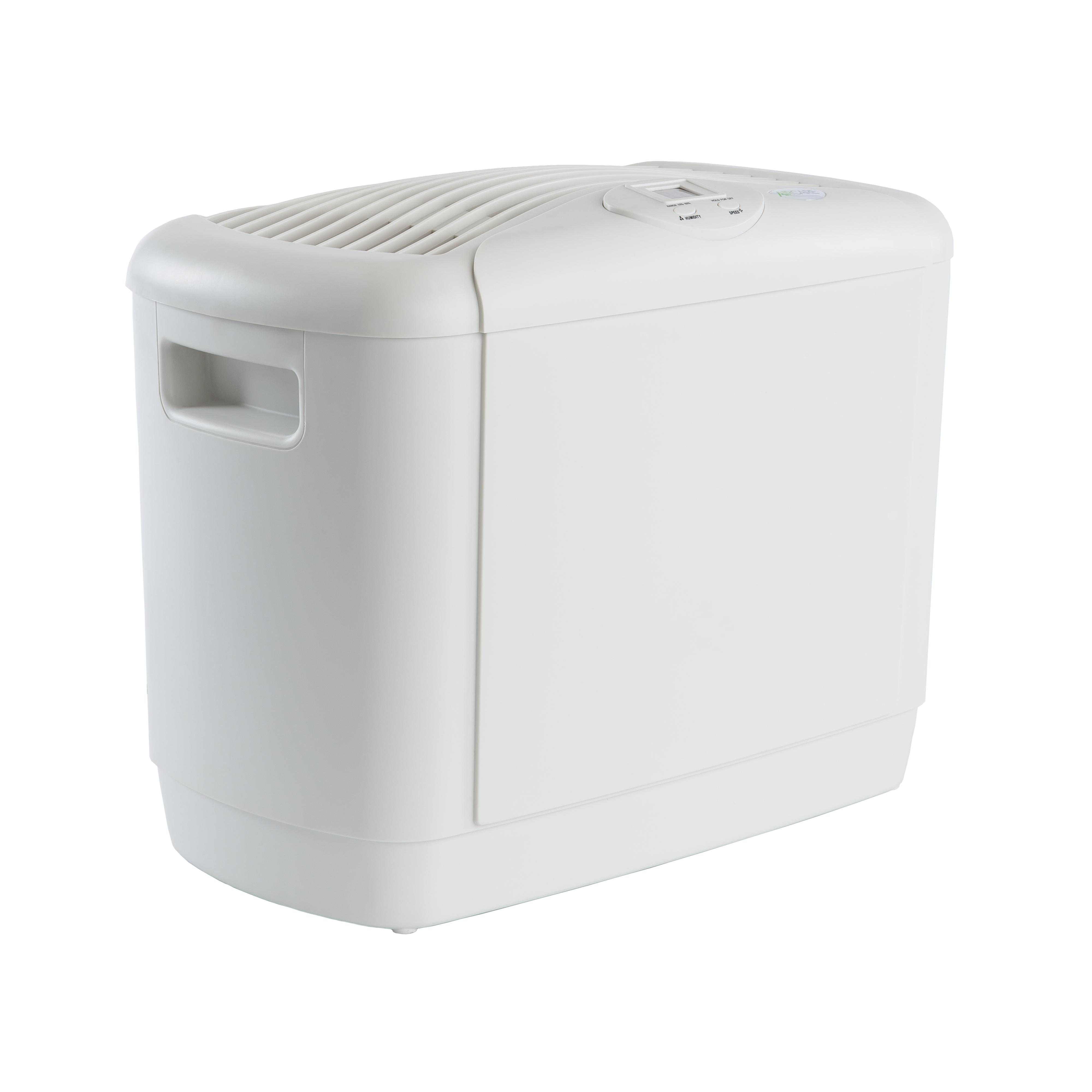 700 4 Speed Mini Console Humidifier White Single Room Humidifiers #6B6760