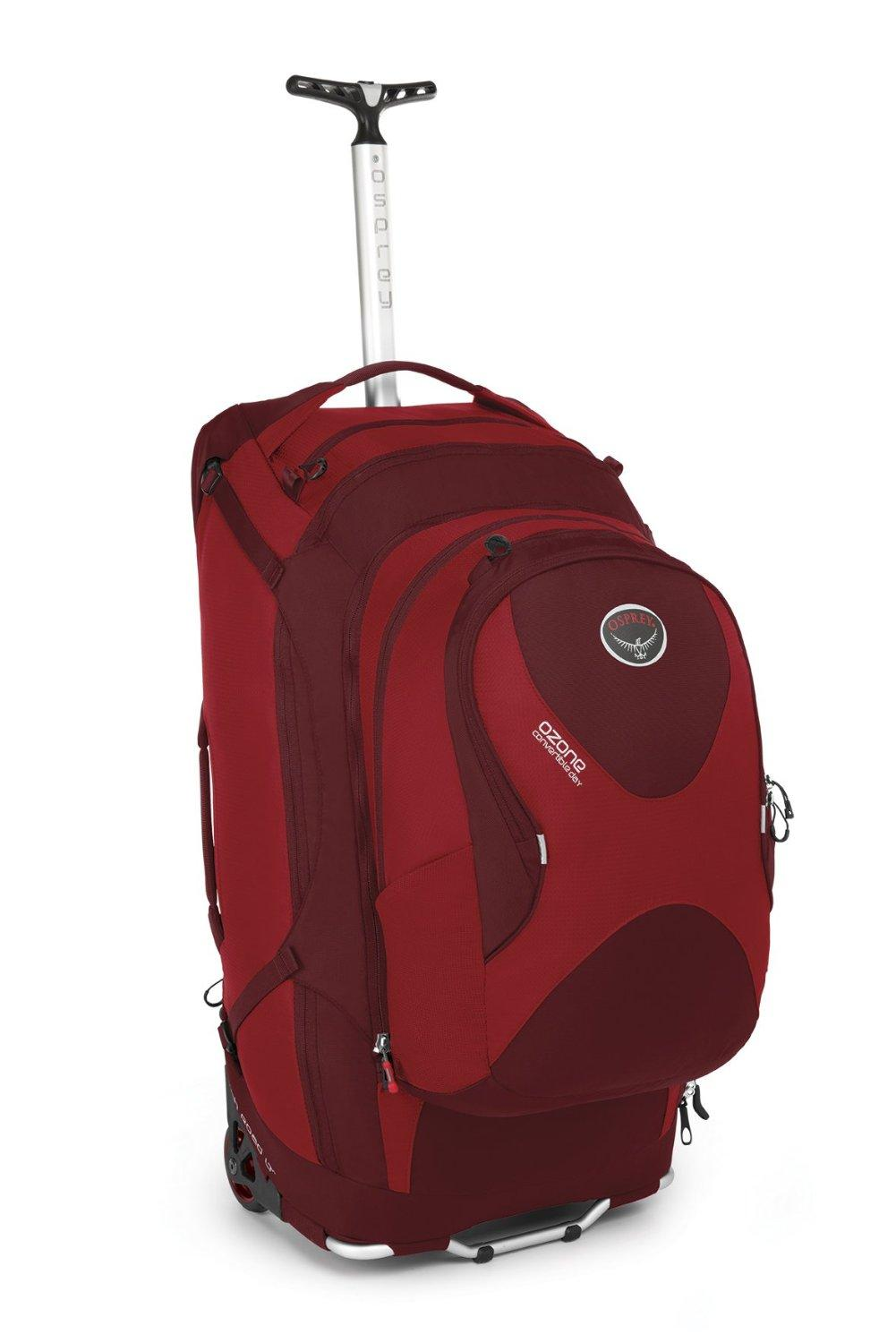 "Amazon.com: Osprey Ozone Convertible 22""/50L Wheeled Luggage: Clothing"